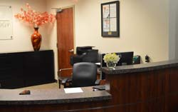 Reception area of Personalized Physicians Concierge Internal Medicine and Cardiology